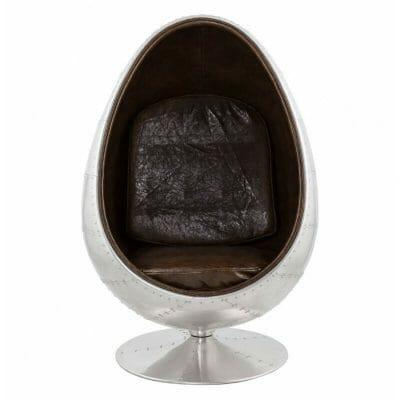 fauteuil egg design pour la décoration